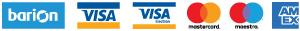 A bankkártyás fizetést a Barion.com biztosítja számunkra!
